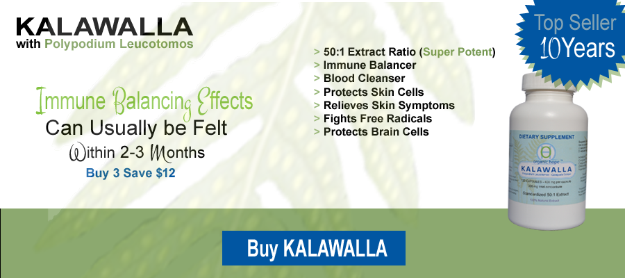 Kalawalla with polypodium leucotomos for immune support